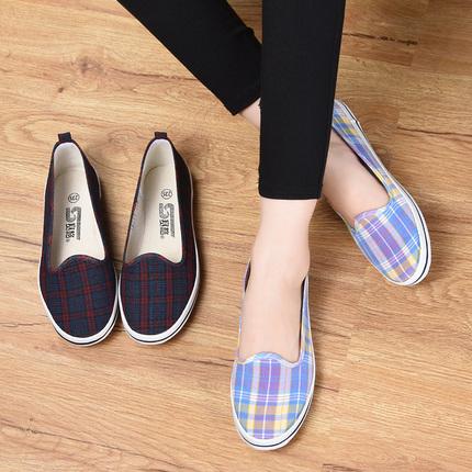 赛格女士家居新款老北京布鞋女旗舰店官方正品中老年的妈妈鞋软底