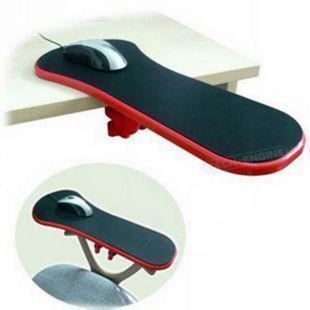電腦手托架桌椅兩用滑鼠墊護腕墊手臂托架手腕託手腕墊滑鼠延長板人體健康學男女士辦公室辦公家用託手臂架子
