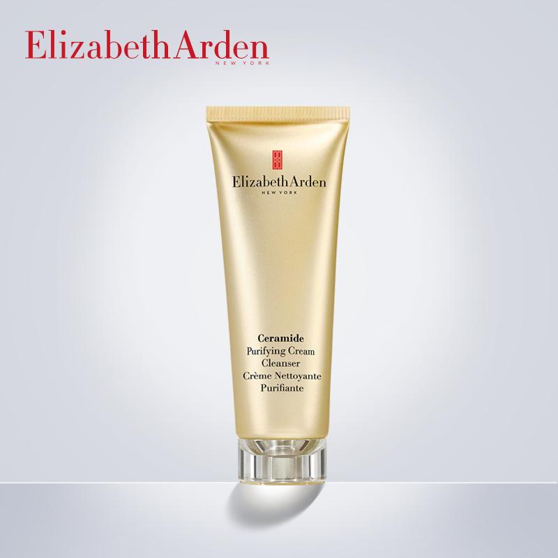 伊麗莎白雅頓時空純淨清潔霜 神經醯胺保溼溫和洗面奶潔面霜卸妝