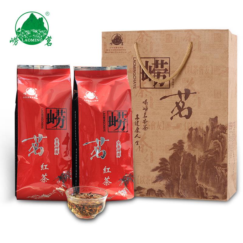 散装山东青岛特产特级红茶 500g 新茶浓香春茶 2018 大田崂山红茶茶叶
