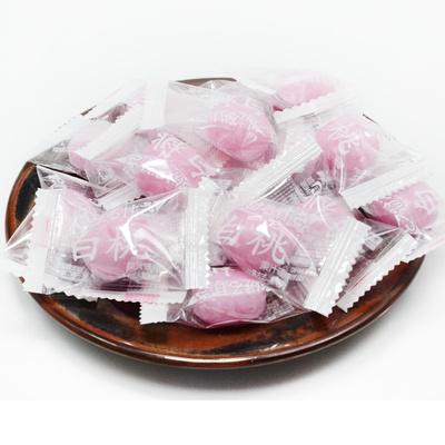 白桃味新款袋装包装果汁硬糖京特糖果批发水果味厂家发货休闲食品