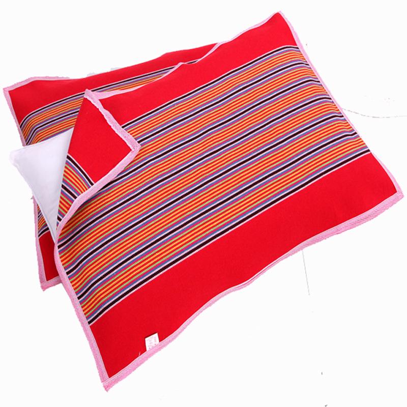 老粗布枕巾成人四季通用正品包邮单人一对装情侣加厚欧式枕巾清仓