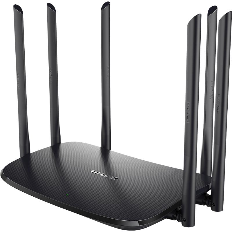 WDR7620 TL 路由器 tp 家用穿墙高速手机远程控制光纤宽带普联路游器 wifi 大功率 5G 双频 AC1900 无线路由器 LINK TP