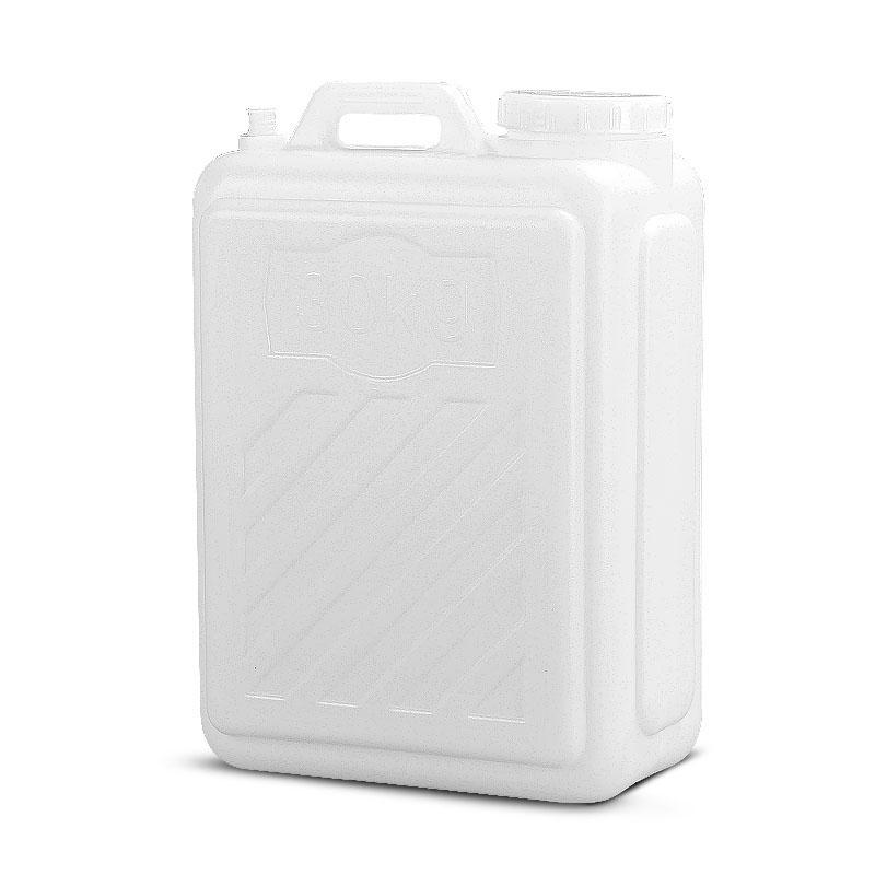 20L 食品级户外塑料储水桶大口扁桶手提桶储水器纯净水桶水箱  30L