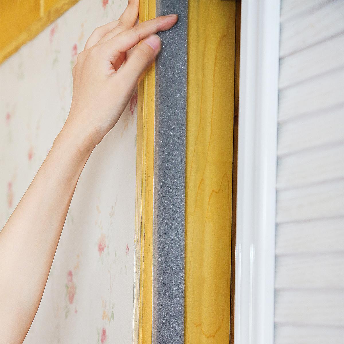 日本进口nitoms 门窗缝隙密封条 门缝隔音条防尘贴自粘窗户防风条