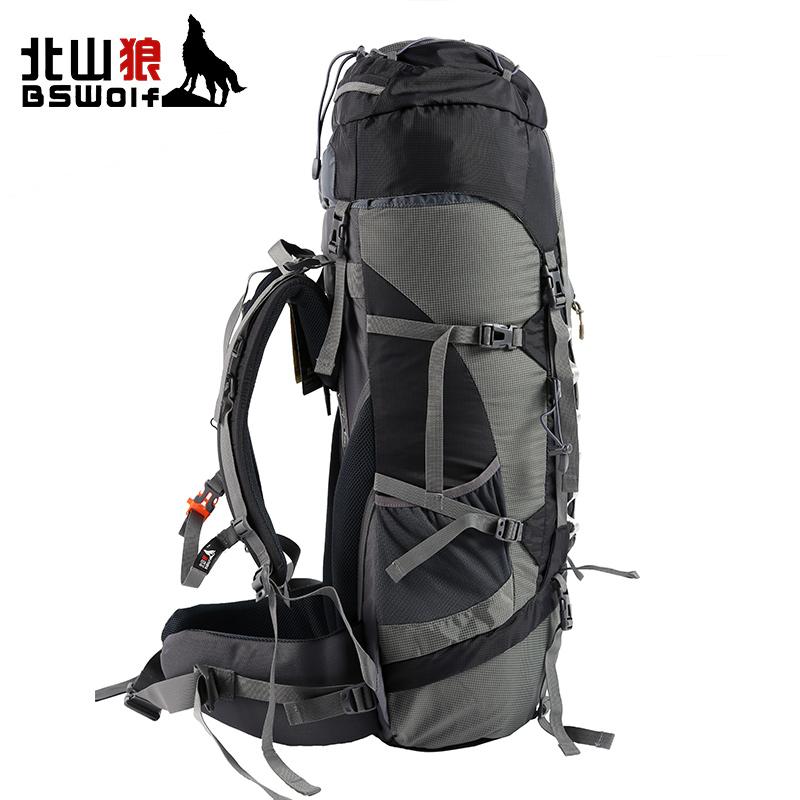 BSWolf户外登山包大容量驴友徒步旅行运动双肩背包防水露营装备包