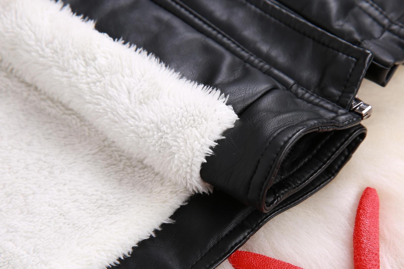 男童皮衣外套2018春秋新款韩版儿童夹克宝宝中大童加绒加厚外套潮