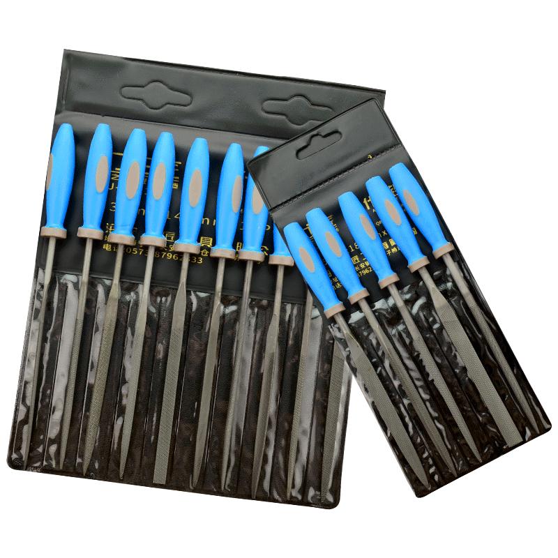 上匠工具什锦锉刀套装 整形锉 金属锉 小锉刀 迷你锉刀组合套装