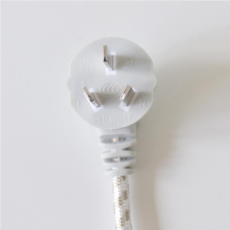 公牛电源连接线电水壶电饭锅电脑显示器电源连接1.5米连接线GN-J4