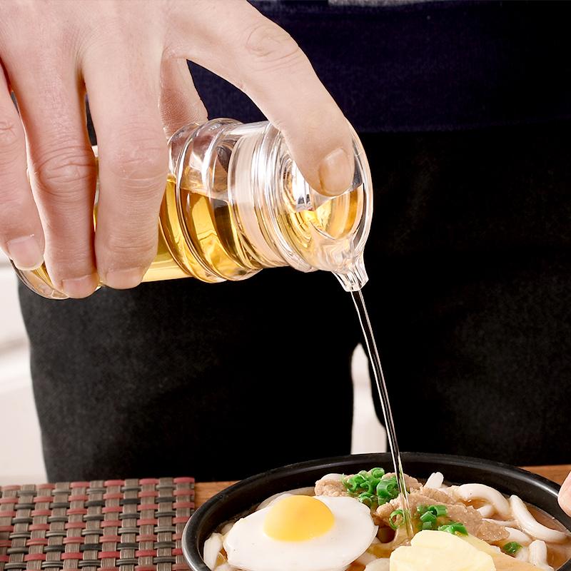 饭店餐厅醋壶塑料调味瓶调料瓶酱油瓶油壶透明油瓶辣椒罐糖罐调料 No.2