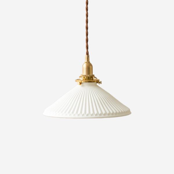 日式复古黄铜陶瓷吊灯北欧简约民宿过道床头玄关吧台飘窗灯 年