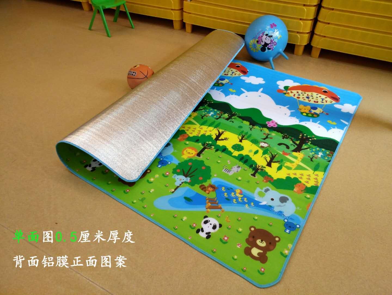 可折叠单面儿童爬行垫野餐垫床垫多功能泡沫宝宝加厚地垫各尺寸