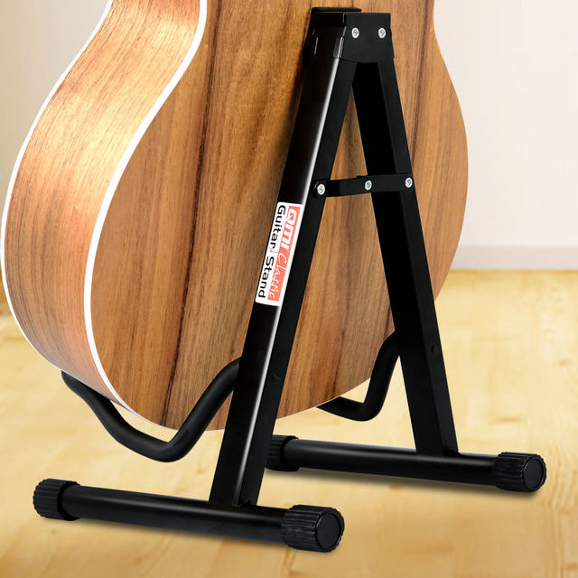 QMI upgrade A type guitar shelf landing Electric Meiji 它 通 通用 vertical folding bracket home piano frame