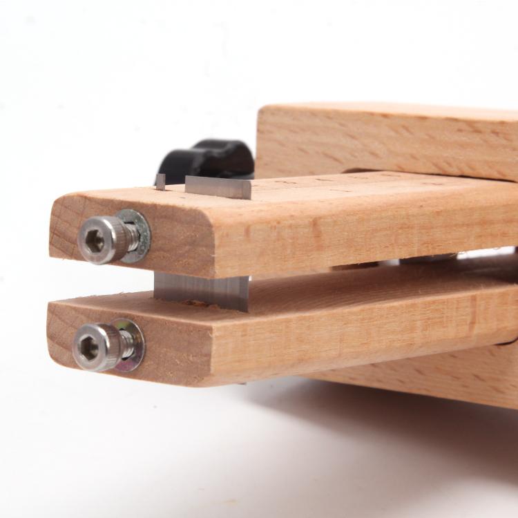红鸟DIY皮具 皮带切割器 裁皮器 精确定位切皮条 皮线切割 木质