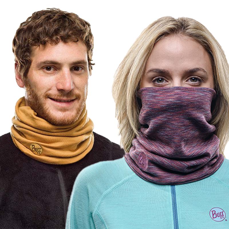 BUFF纯羊毛围脖脖套 魔术头巾秋冬保暖运动面巾面罩围巾薄款男女