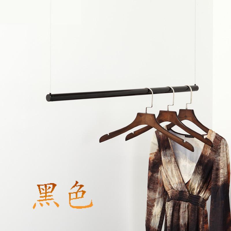 钢丝钢管吊杆 服装专卖店铺装修橱窗陈列展示道具衣服悬挂吊顶架