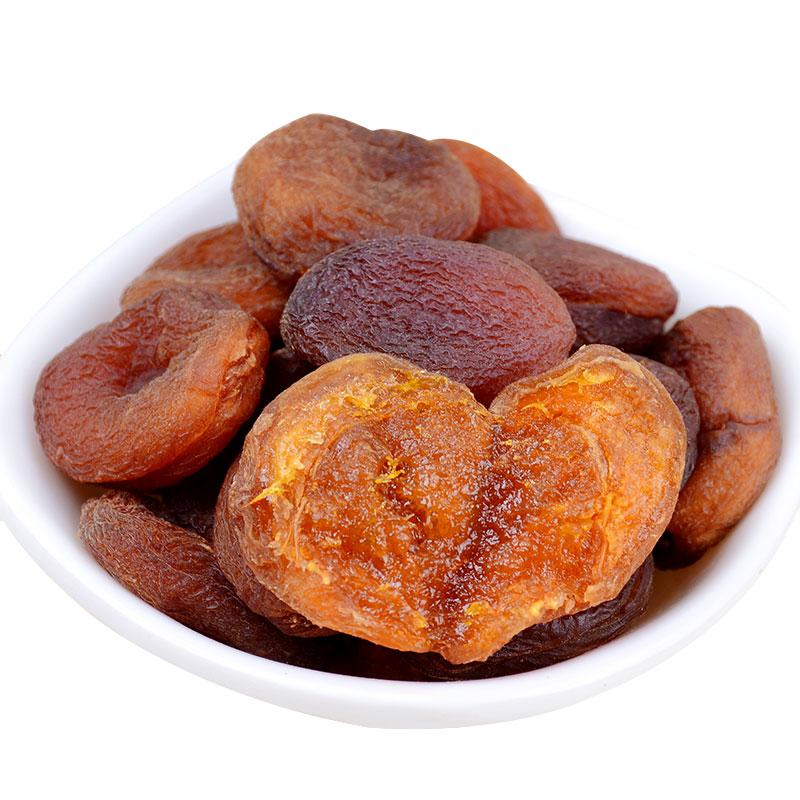 新疆特产无核黑杏干杏肉土耳其无添加零食天然原味500g非杏脯蜜饯