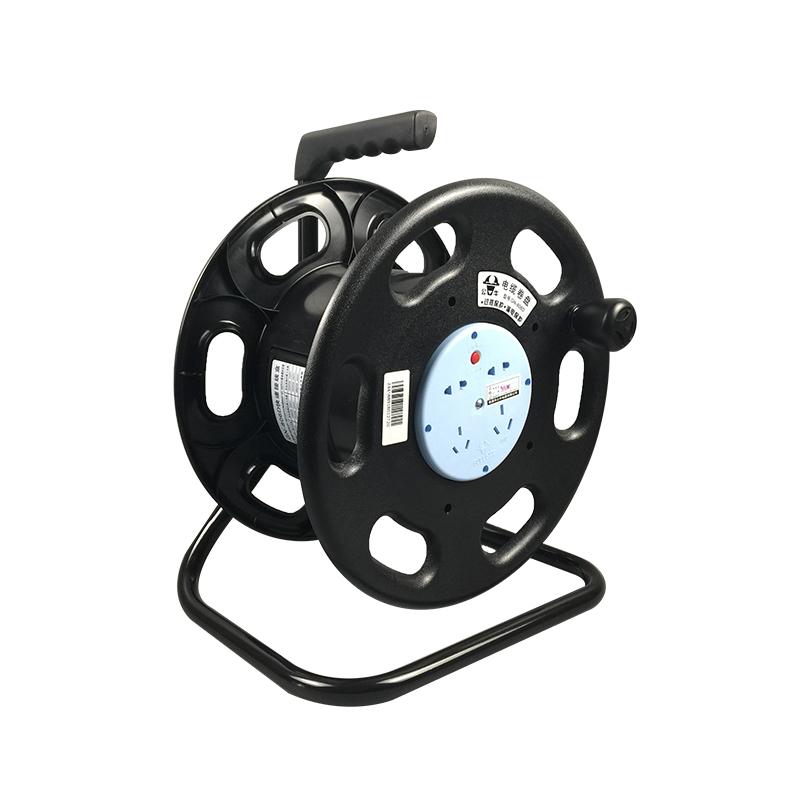 工程插排插座 806D GN 米电源盘 100 50 30 公牛移动式电缆卷盘拖线盘