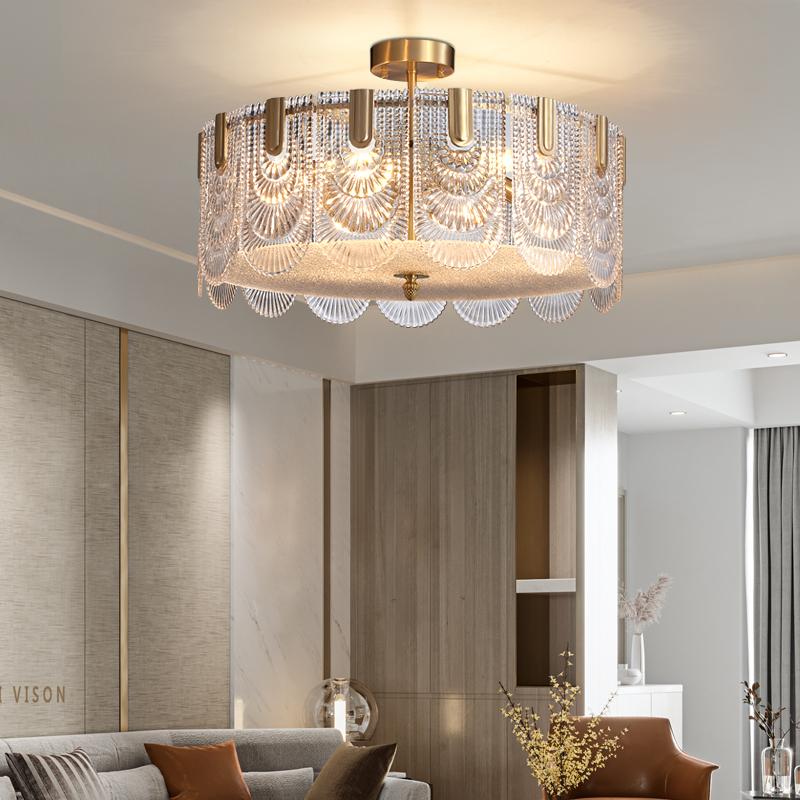 灯法式轻奢卧室灯餐厅北欧吊灯