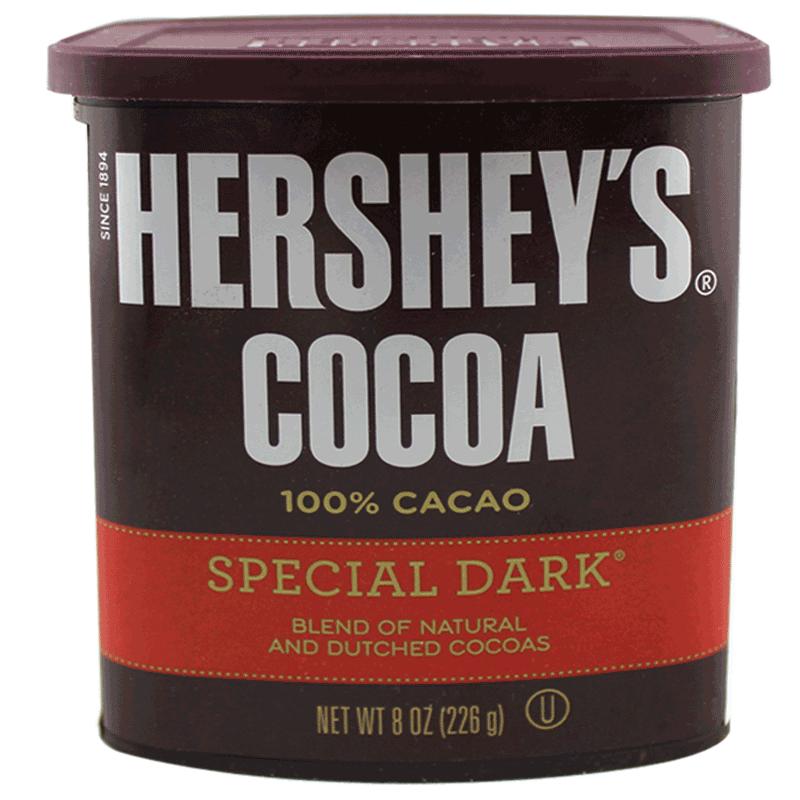 好时可可粉226g醇黑 热巧克力冲饮烘焙 提拉米苏脏脏包原料