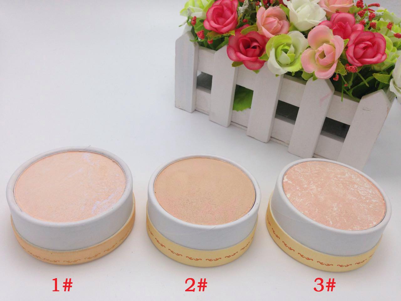韩国水蜜桃粉饼定妆修容高光提亮粉饼遮瑕控油防水干粉不脱妆包邮