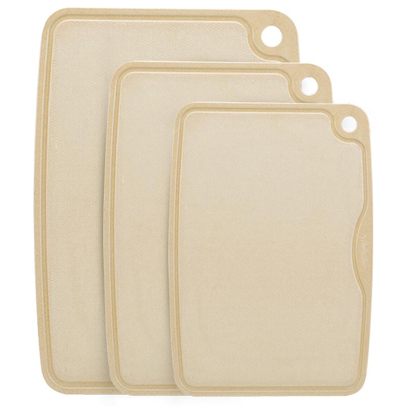 壳氏唯稻壳抗菌防霉菜板家用厨房刀板砧板水果粘板占板案板切菜板