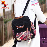 Lamu each Philippine Mummy bag handbag canvas shoulder bag large capacity bag small bag fashion mom bag mother and child out