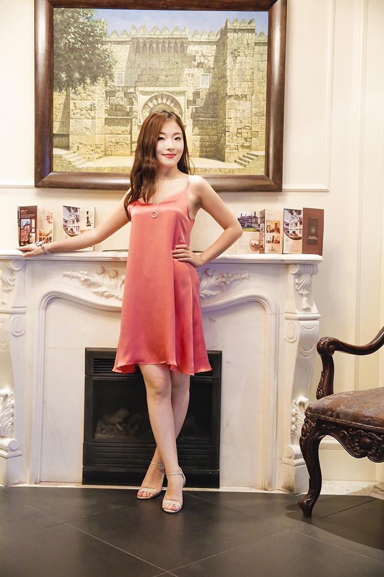 【介面高端原创女装】夏季重磅真丝桑蚕丝内搭背心衬裙吊带连衣裙