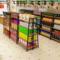 超市货架展示架中岛柜文具店便利店货架药店母婴店商店单双面货架