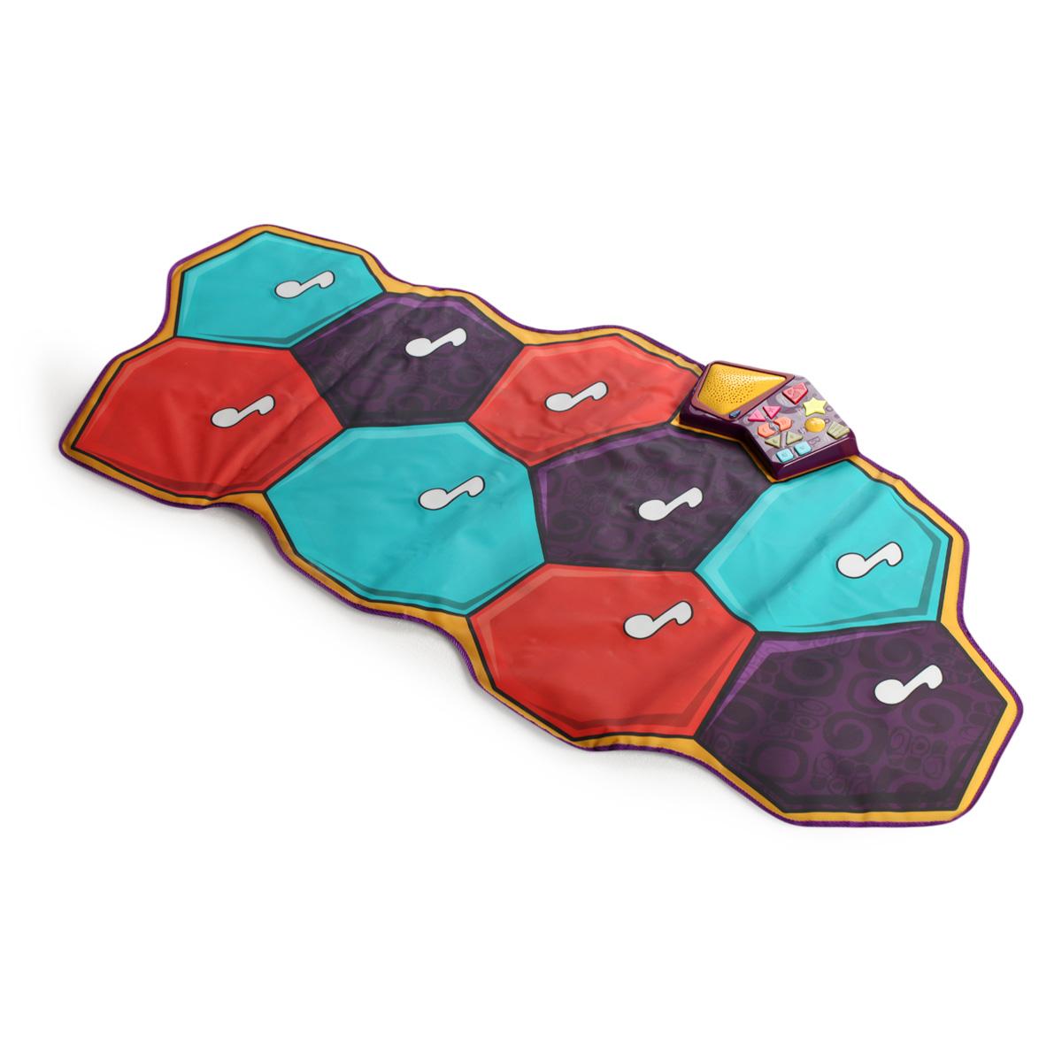 美国B.Toys音乐跳舞毯儿童游戏毯爬行垫宝宝室内运动益智发光玩具