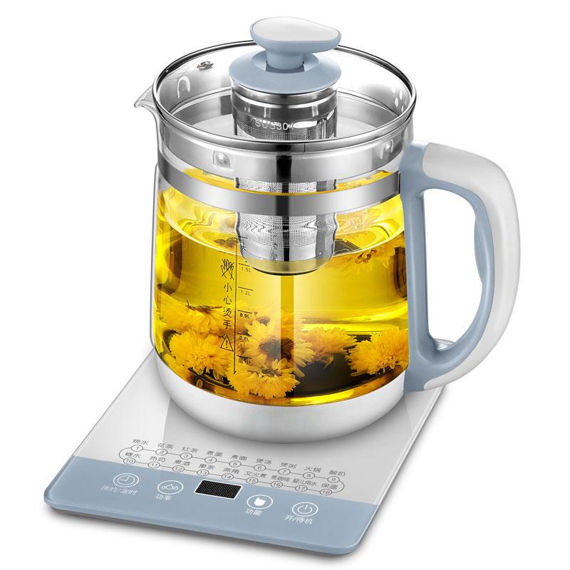 养生壶全自动玻璃加厚一体多功能电热花茶壶家用煮茶器办公室小型