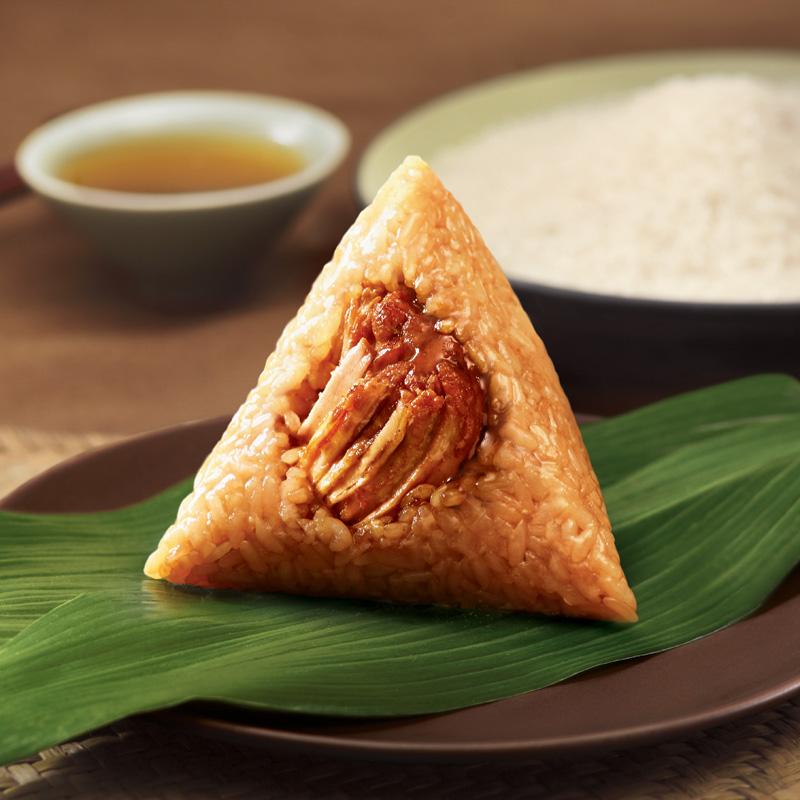 五芳斋粽子真空100克*2只*3袋美味鲜肉粽粽子早餐嘉兴特产大肉粽