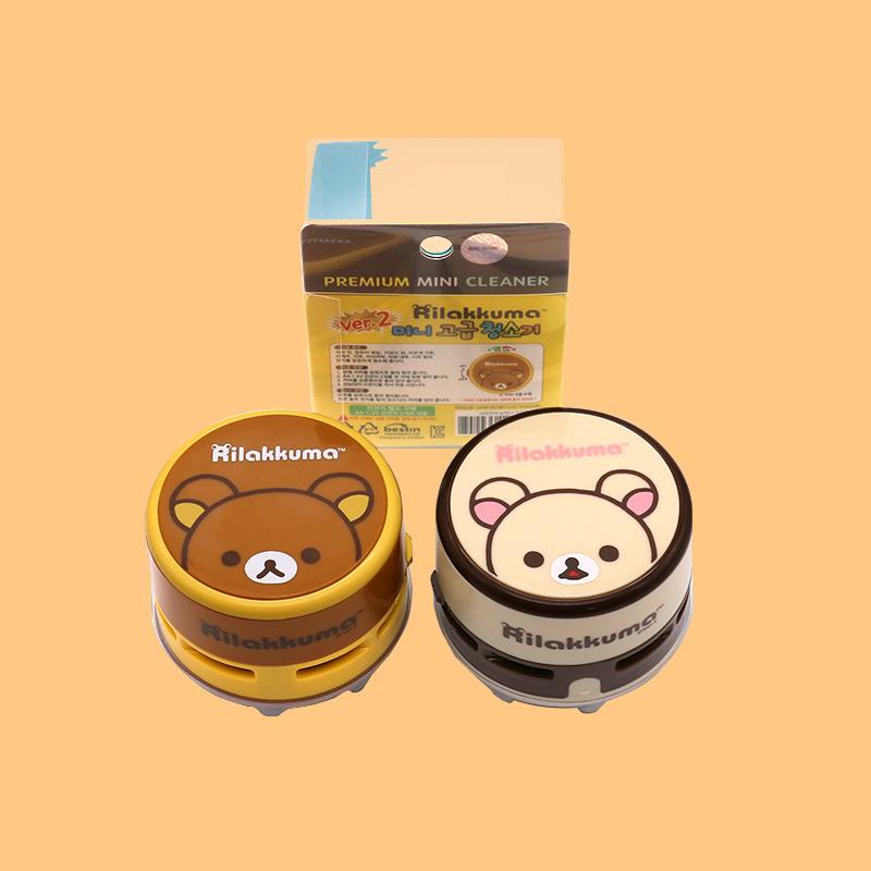 韩国进口小熊可爱电动迷你吸尘器强力键盘桌面清洁器轻松吸入纸屑