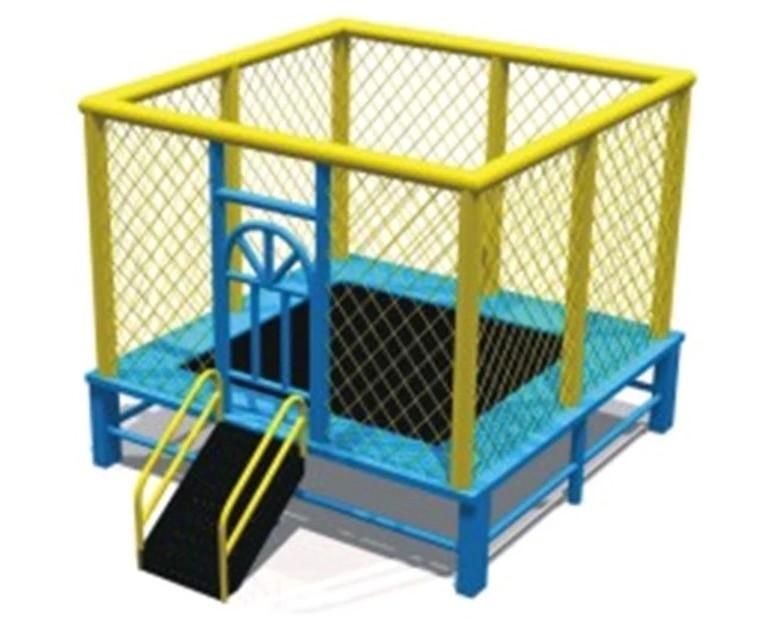 小迪皇直销室内儿童方形蹦床淘气堡跳跳床幼儿园儿童跳床