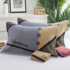 Old-fashioned towel type cotton pillow towel a pair of pure cotton thick terry European-style modern style couple adult pillow towel