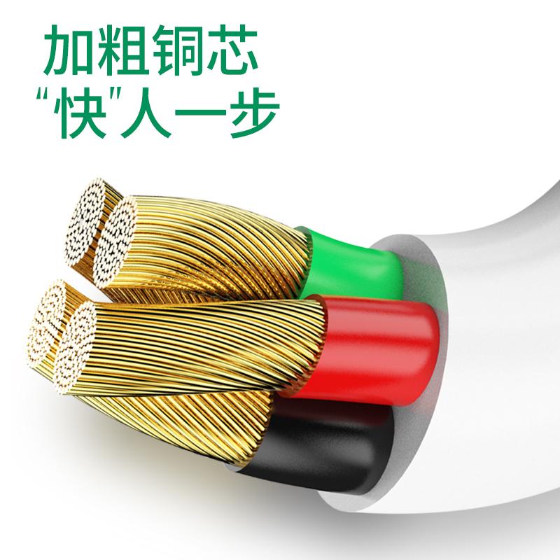 适用oppo闪充数据线原装正品厂快充r17/r9s/plus/r11/r15x/r9/a57/a9/a5/a11/a3/reno手机安卓通用充电器线s - 图2