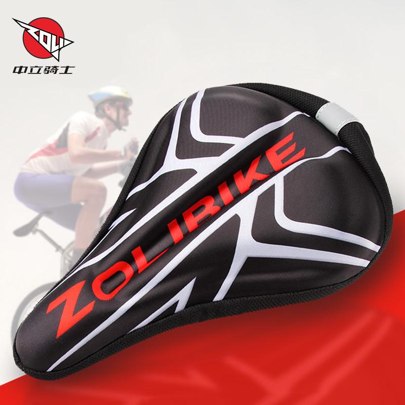 山地自行車坐墊套公路座墊套3d矽膠加厚舒適騎行裝備配件