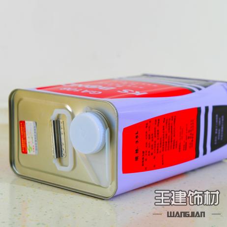 王建饰材 防落万能胶3.5L 通用型 木工 强力胶 木板胶水 大桶装
