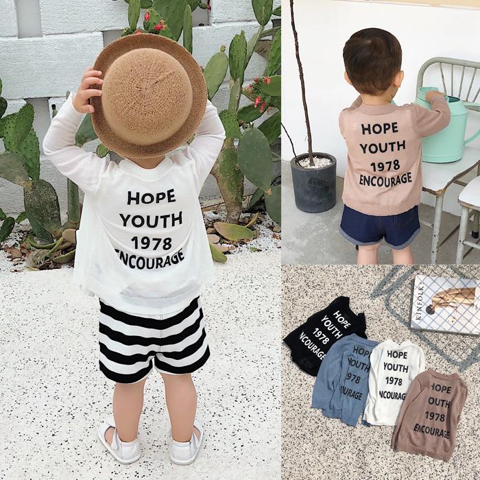 [淘寶網] 辰辰媽嬰童裝女小童針織開衫防曬外套夏薄款百搭嬰兒男寶寶空調衫