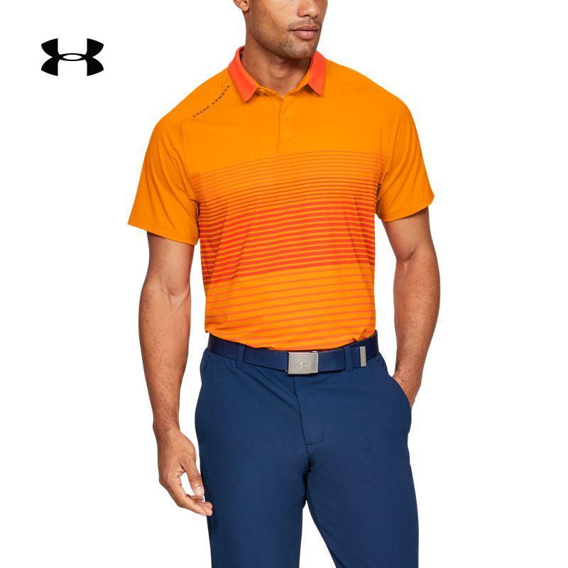 安德玛官方UA IsoChill男子高尔夫运动POLO衫1327034