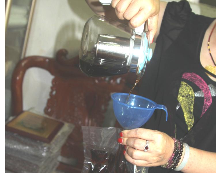 奥捷 塑料漏斗 家用小号口径冰袋漏斗 酒漏斗油壶酱醋迷你油漏斗