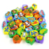 Children's educational beaded beading toy wooden baby early education threading beaded building blocks for boys and girls 1-2-3-5 years old