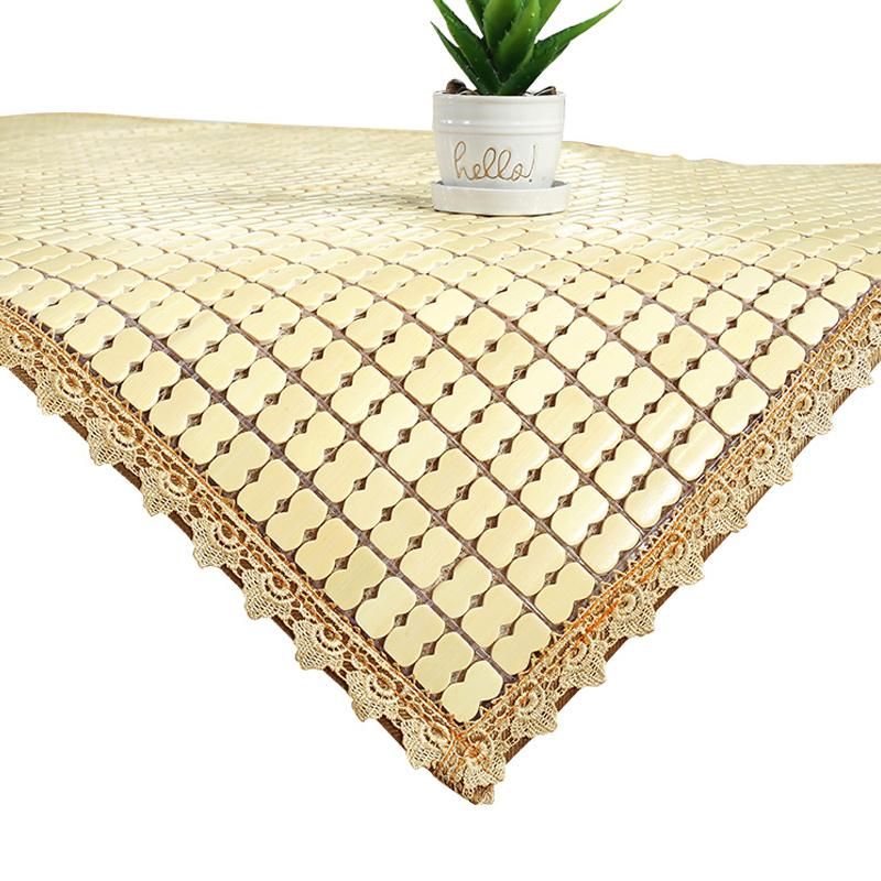 正帆夏季沙发垫防滑麻将竹坐垫套巾罩夏天款凉席客厅欧式凉垫定做