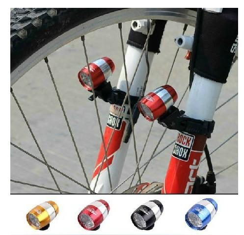 特價自行車迷你車前燈前叉燈死飛山地車尾燈手電筒警示燈騎行配件