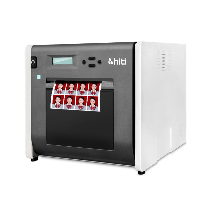 商用专业照片打印机相馆证件照冲印机 热升华照片打印机 p525l 呈妍