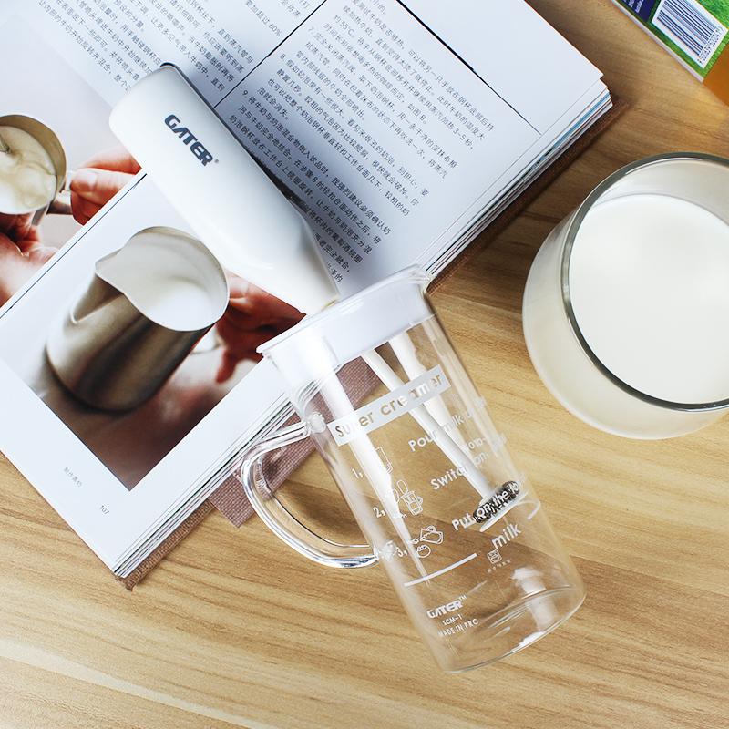 啡忆 打奶泡器 家用电动打奶器 小型牛奶打泡机 自动搅拌杯奶泡壶