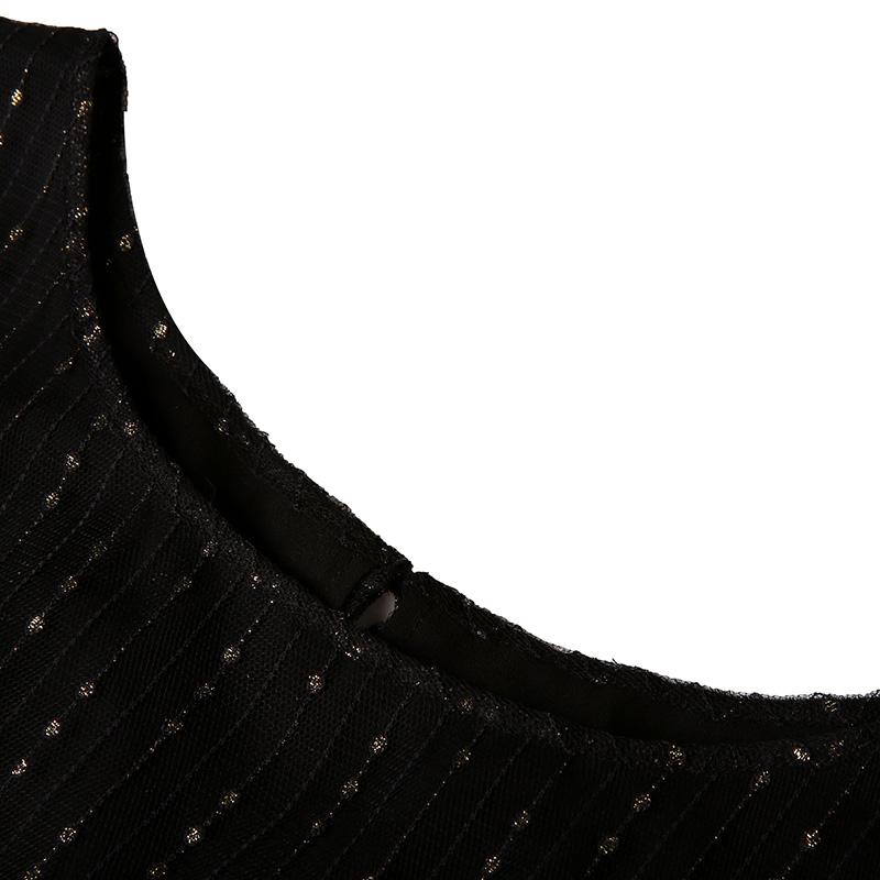 字连衣裙女 A 夏装装新款气质圆领短袖高腰裙双层 2018 莲灿