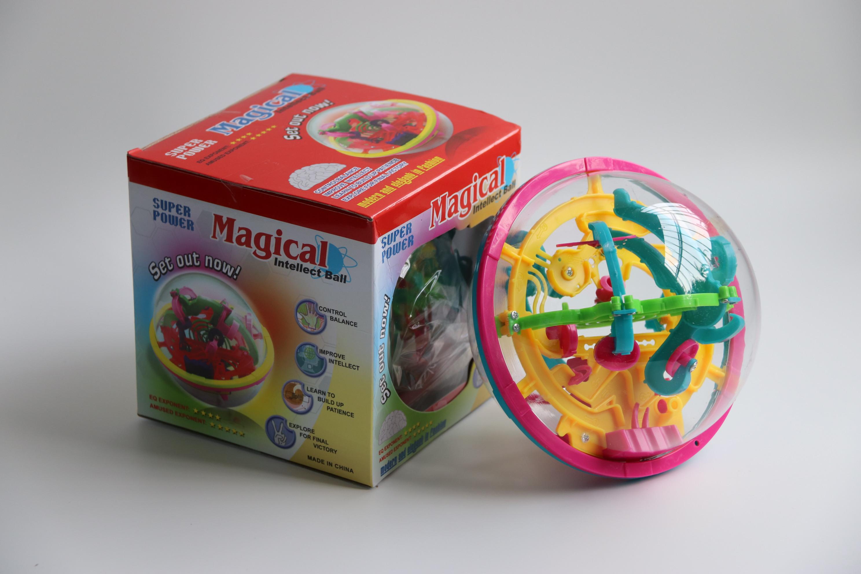 六面翻转正方形迷宫魔方走珠3D立体闯关儿童成人手头益智玩具特价