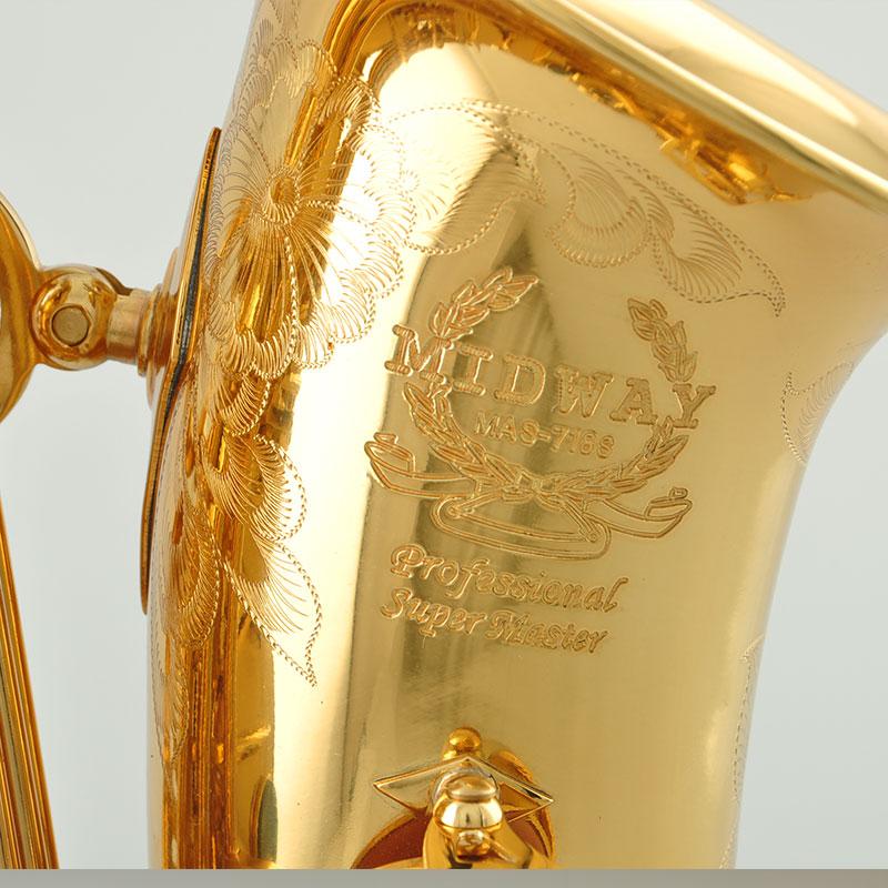 中音萨克斯 管 调中音萨克斯风 E 降 美德威乐器 718S MAS 萨克斯