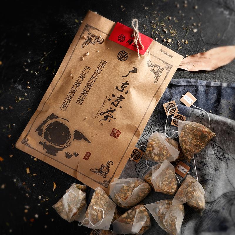 膳太 感和茶 热感冒广东传统凉茶膳太桑叶薄荷饮茶原料10小包C155